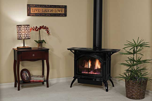 Royal Fireside - White Mountain Hearth Free Standing Gas Stoves