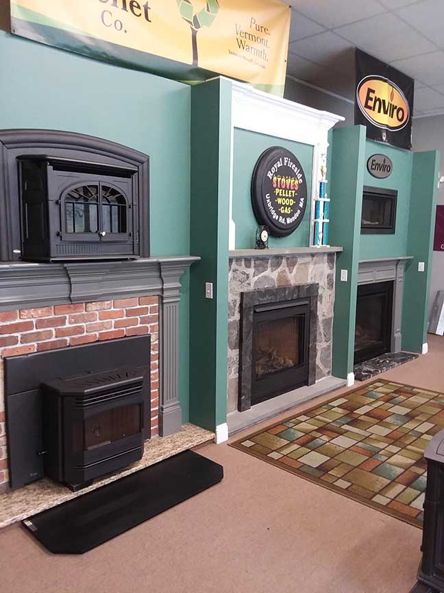 About Royal Fireside - Showroom in Mendon, MA