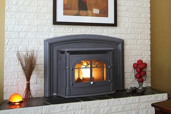 Royal Fireside - Enviro Pellet Fireplace Insert