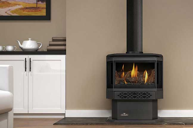 Royal Fireside - Napoleon Free Standing Gas Stoves